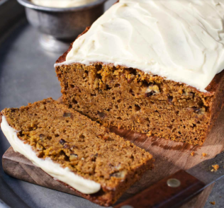 Spiced Maple Pecan Pumpkin Bread